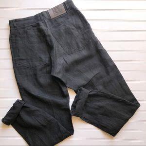 Ralph Lauren 100% Linen High Waist Pants